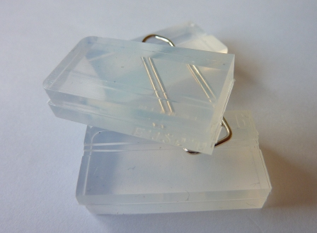 TRANSPARENT SILICONE LSR RUBBER GUIDING PAD ELEMENT